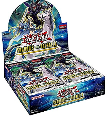 amazon com konami yu gi oh tcg shadows over valhalla booster