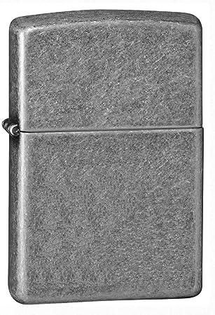 Zippo Antique Silver Encendedor, Metal, Cromo, Única: Zippo: Amazon.es: Hogar