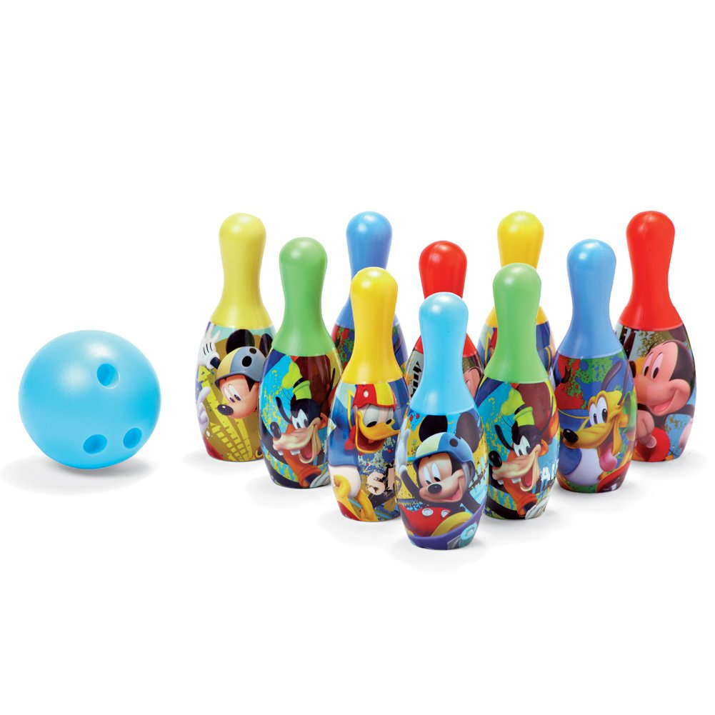 Disney Mickey Mouse Bowling Toy Set