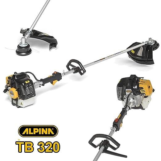 AlpinaTrade - Desbrozadora cortabordes Alpina TB320 Motor a ...