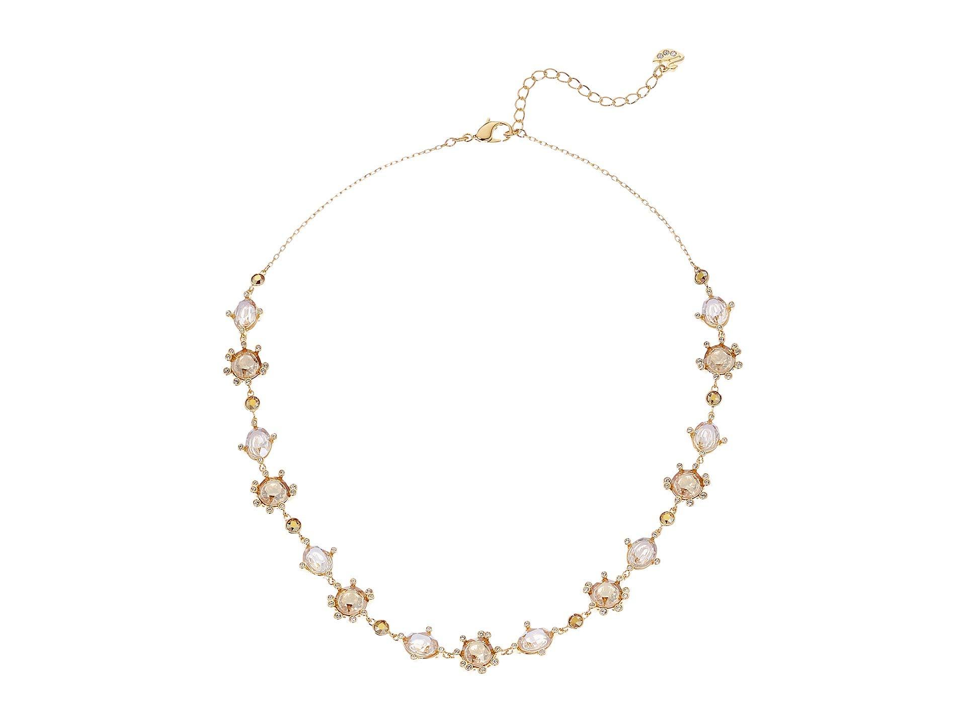 Swarovski Olive Necklace, Gold Plating 5460987 by SWAROVSKI