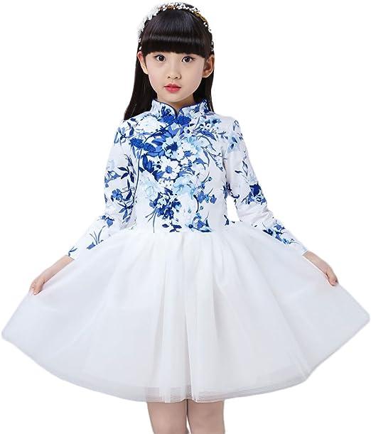 Amazon.com: Soojun - Vestido de manga larga con botón de ...