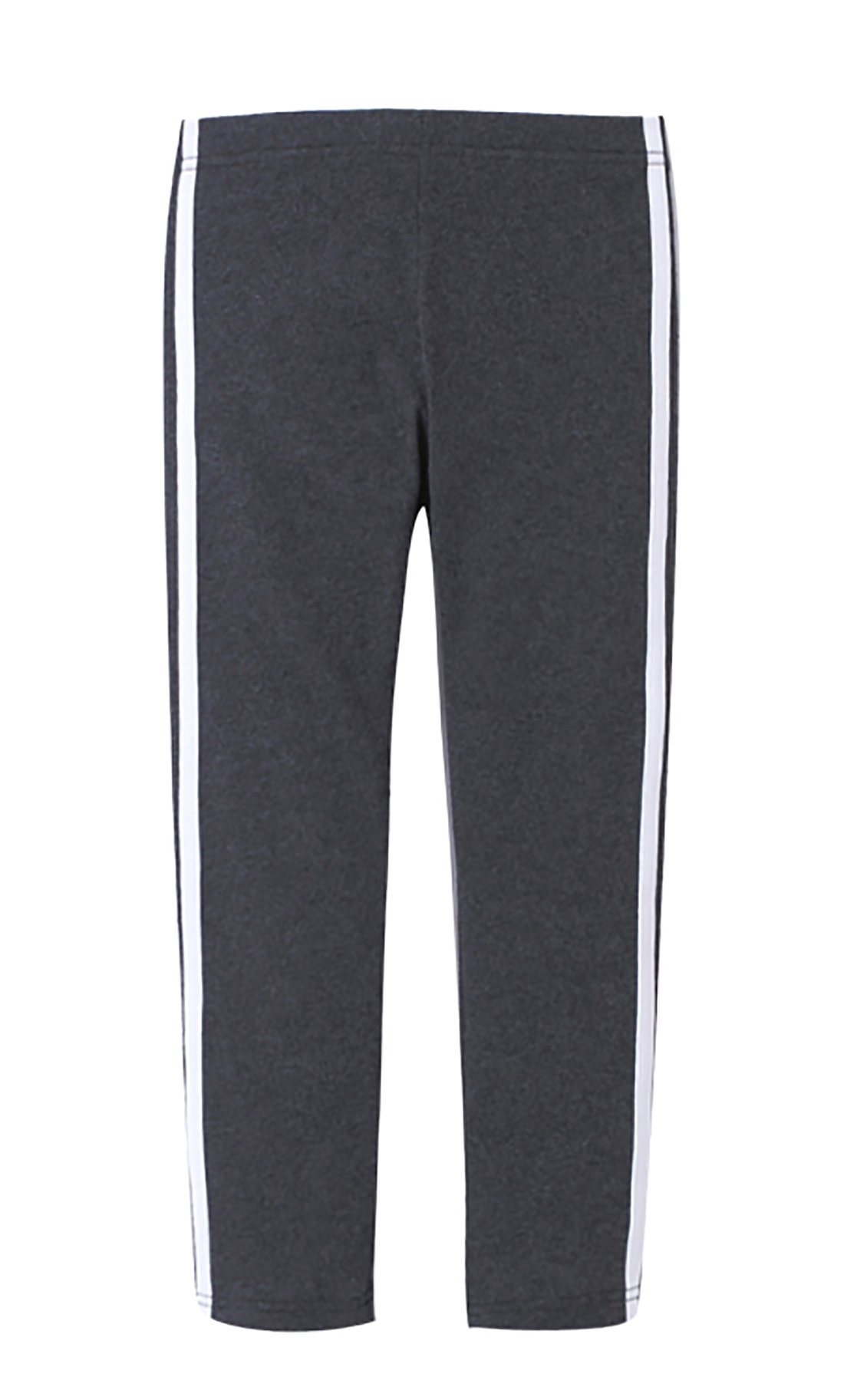 Zegoo Girl's Workout Exercise Elastic Waist Ankle Jogger Sweatpants Black
