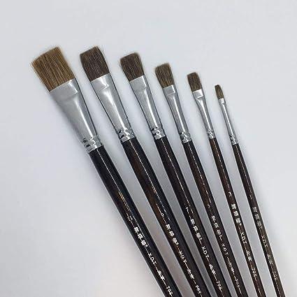 Amazon Com Xdt 798 Bright Style Paint Brush Artist Painting