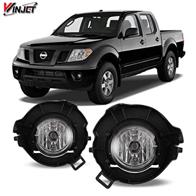 05-08 Nissan Pathfinder / Frontier OEM Style Clear Fog Lights: Automotive