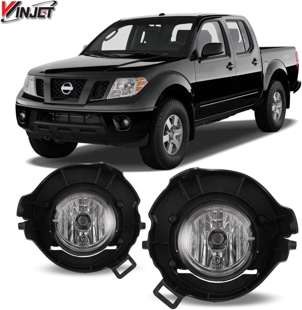 05-08 Nissan Pathfinder / Frontier OEM Style Clear Fog Lights