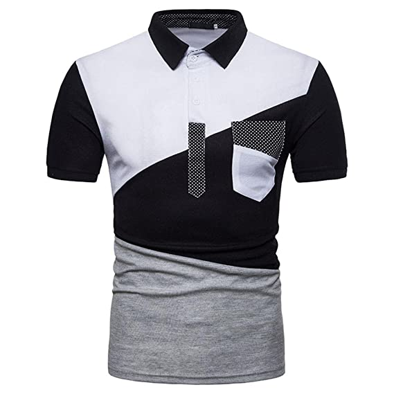Trisens Baumwolle Herren Hemd Sommerhemd Shirt Polohemd Polo
