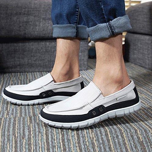 Uomo Scarpe Tela Pechino Basso Gray Vecchia Stoffa Studente Scarpe Maschi da di LIUXUEPING Estate Scarpe Pigre di Scarpe Casual Aiuto Estive Scarpe Traspirante dcSpEWWf