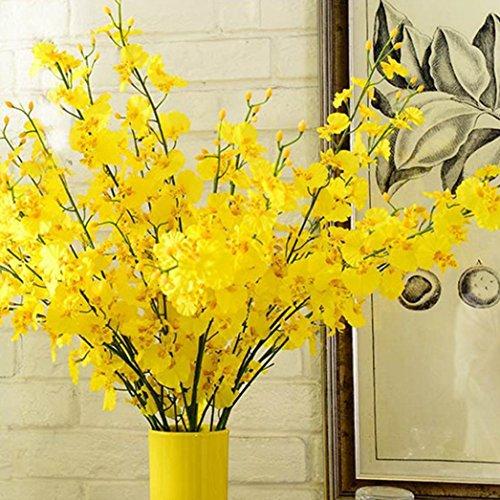 Vibola® Simulation Oncidium Orchid Phalaenopsis Flowers For Wedding Decor Romantic artificial flowers grain decorative - Orchid Oncidium Care