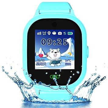 9Tong - Reloj inteligente GPS para niños, impermeable, con tarjeta ...