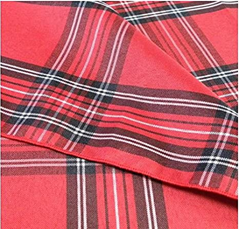 Set of 3 Myles International Sebastien /& Groome Cozy Plaid Tea Towels