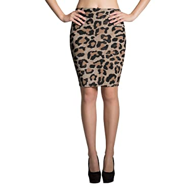 65c244749 Image Unavailable. Image not available for. Color: cheetah leopard print  Pencil Skirt