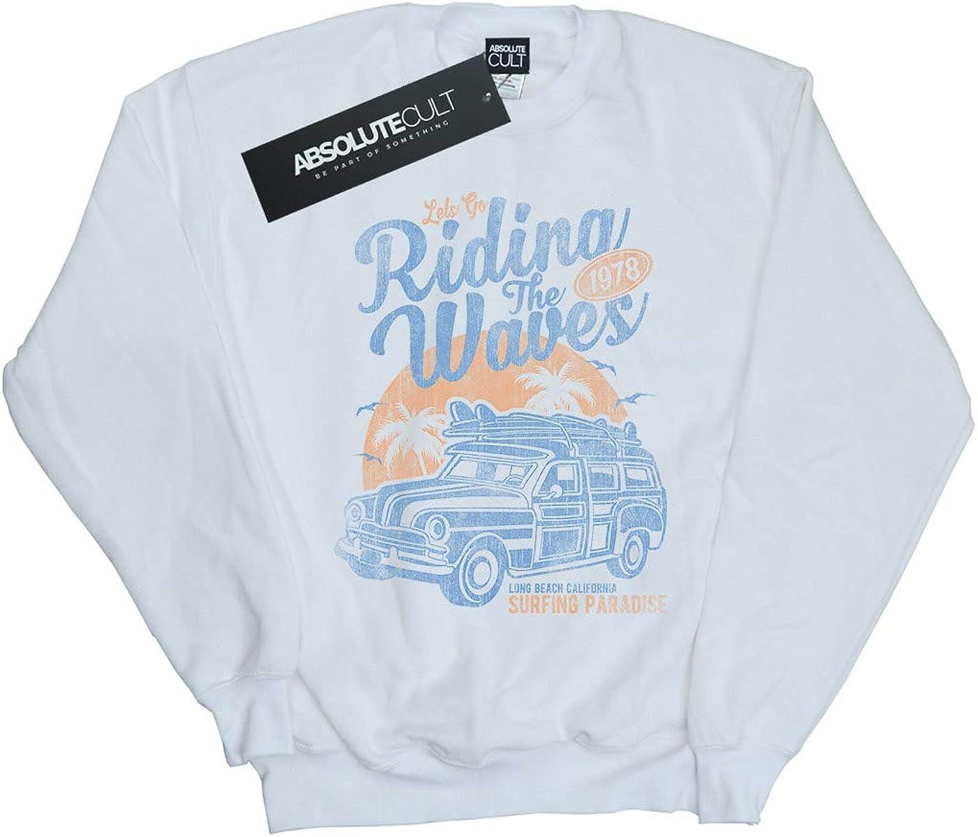 Drewbacca Girls Ridin The Waves Sweatshirt