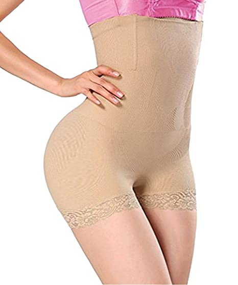 67a88b31ddde5 FLORATA Lady High Waist Butt Lifter Body Shaper Booty Tummy Control ...