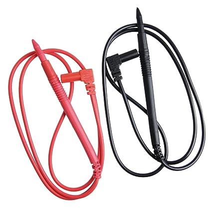 Segolike Digital Multimeter 1000V 10A Test Lead Probe Cable SMD SMT Needle Tip Pen