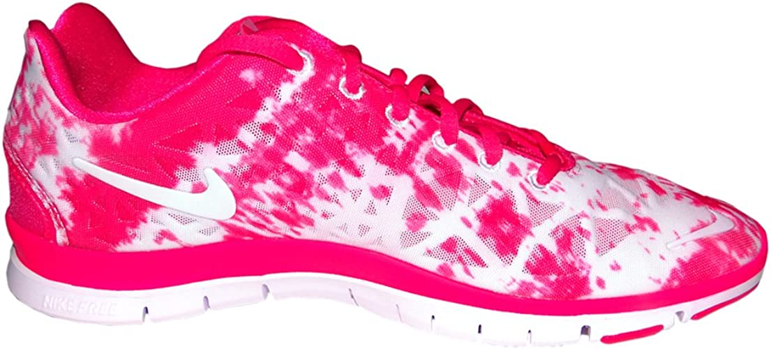 nike free tr fit 3 prt Amazon.com | Nike Women's Free TR FIT 3 PRT Pink Force/White-Pure ...