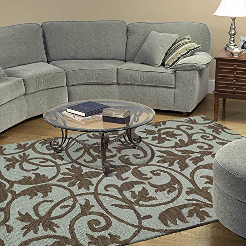 Kaleen Rugs Carriage Collection 6101-56 Spa Hand Tufted 9' x 12' Rug