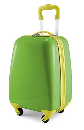 Hauptstadtkoffer Kids Luggage Childrens Suitcase Hard Side Glossy Multicoloured Applegreen