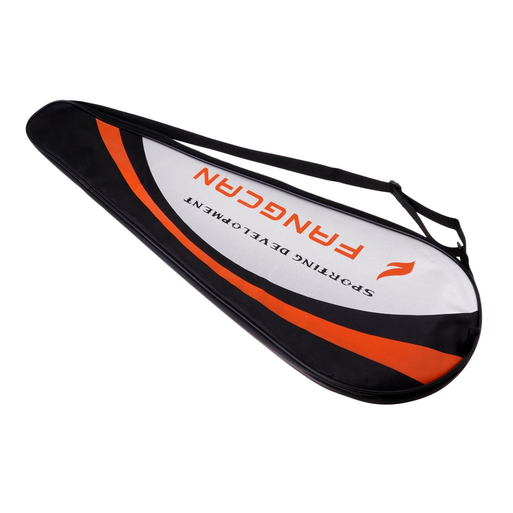 perfk Full-covered Badminton Racquet Cover Racquetball Equiment Cover Holder Bags