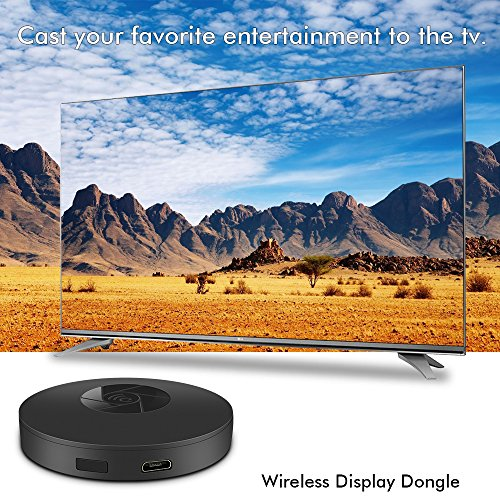 Wireless WiFi Display Dongle,1080P TV Dongle Receiver Support Google Chrome for iOS/Android YouTube,Live Camera Sharing,etc. by Ozvavzk (Image #2)