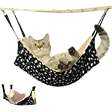 Doglemi Cat Pet Cage Hammock Warm Soft Cat Bed Cage Cat Pad Comfortable Cute Pet Bed Hammock in 3 Colors