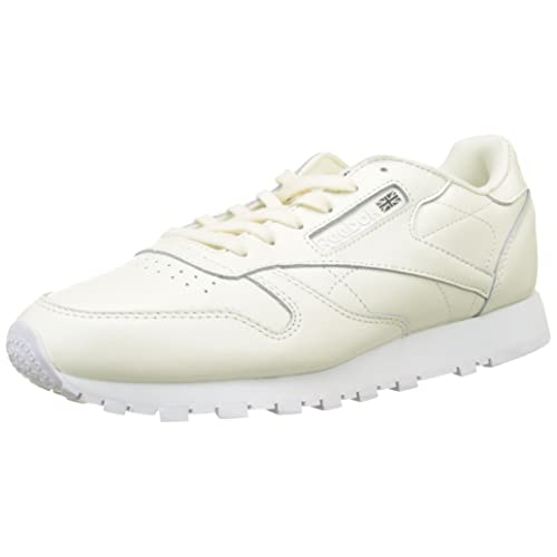 Reebok Leather X Face Zapatillas de Running para Mujer Blanco Classic Whitewhiteblack 0 41 EU