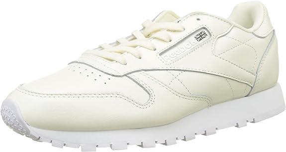 Reebok Leather X Face, Zapatillas de Running para Mujer, Blanco (Classic Whitewhiteblack 0), 40 EU: Amazon.es: Zapatos y complementos