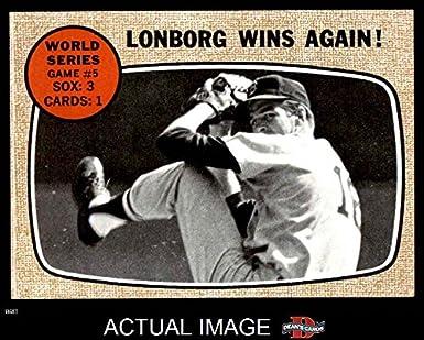 1968 Topps 155 1967 World Series