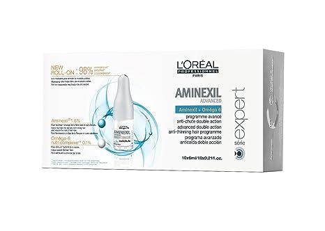 L´Oréal Aminexil Advanced, Tratamiento contra la Caída del Cabello, 10 x 6