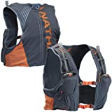 Nathan Men's Hydration Pack/Running Vest - VaporKrar 4L 2.0-4L Capacity with Twin 20 oz Soft flasks, Hydration Backpack…