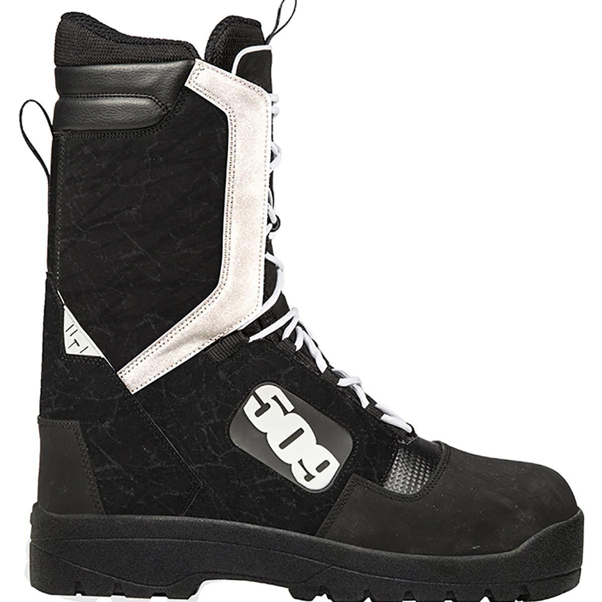 509 Raid Laced Boot (Black/White - 11) F06000200-011-001