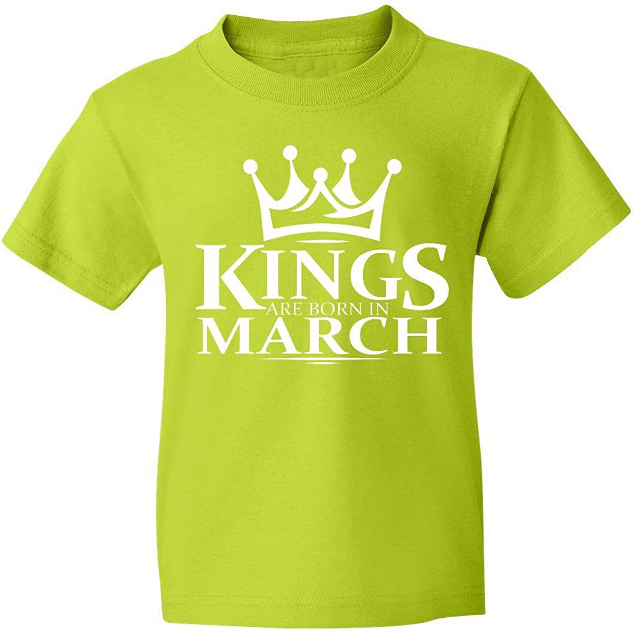 Marky G apparel Boys Kings Are Born In March T-Shirt