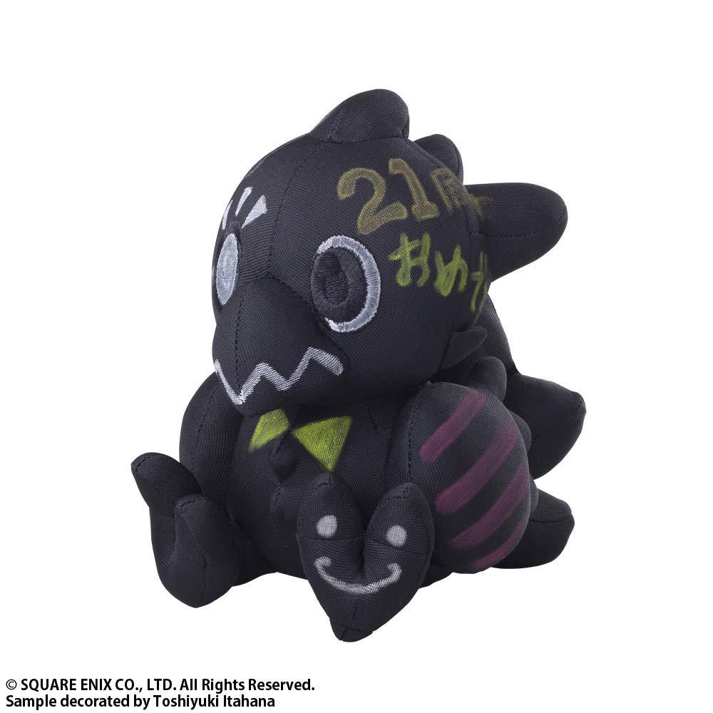 Square Enix Final Fantasy Plush Black Version Chocobo Autograph