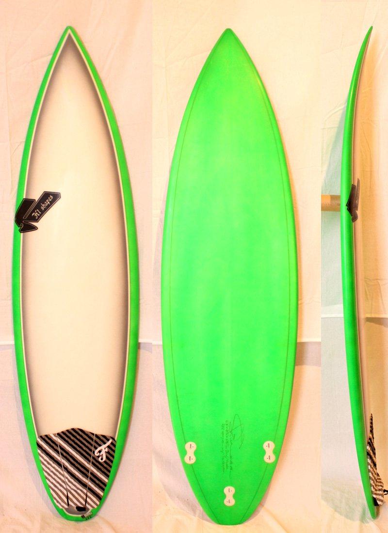 超人気の SHIN SHIN SURFBOARDS シン 6'2