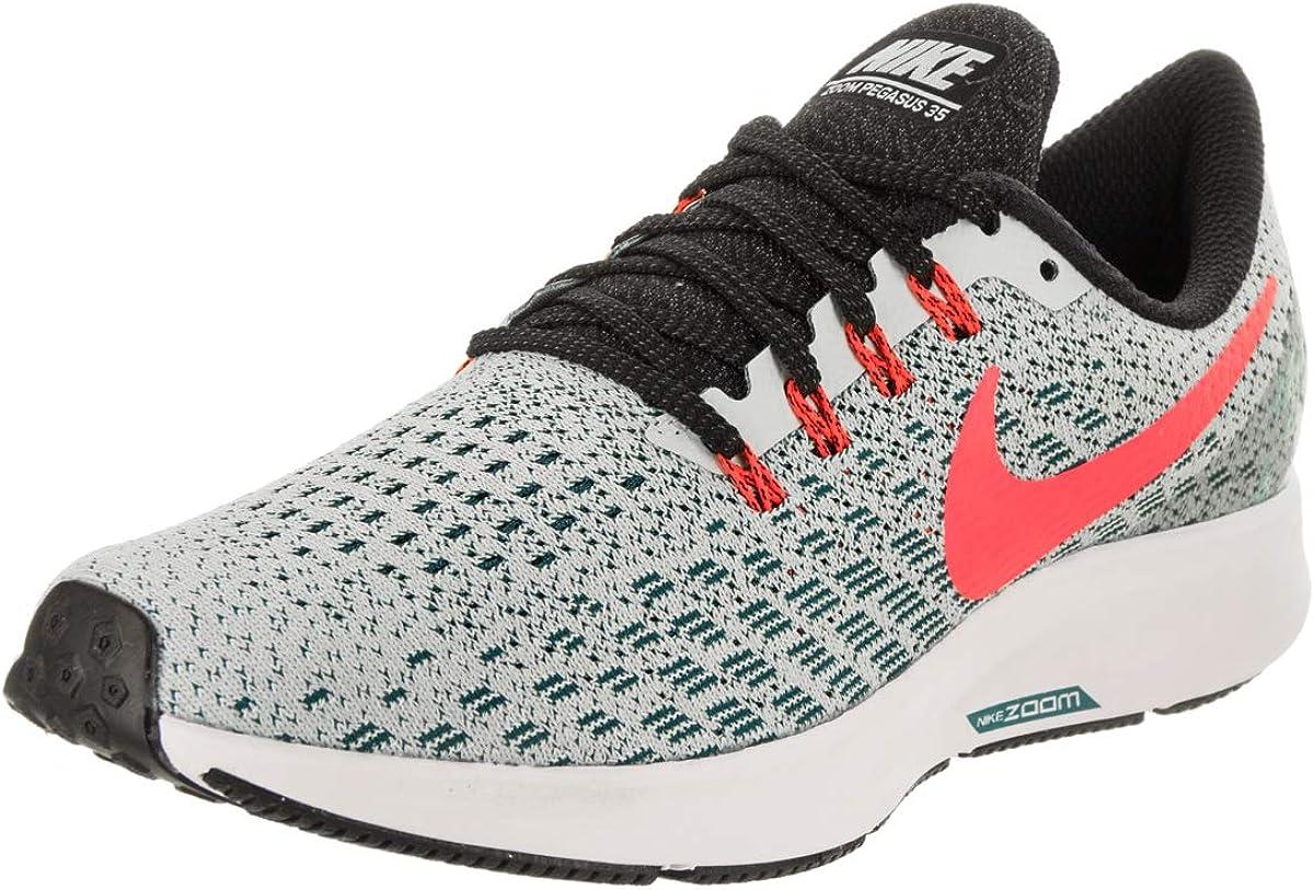 Nike WmnsAir Zoom Pegasus 35, Zapatillas de Running para Mujer, Gris (Barely Grey/Hot Punch/Geode The 009), 39 EU: Amazon.es: Zapatos y complementos