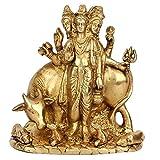 Statuestudio Indian Trinity of God Hindu Lord Brahma Idol Home Temple Puja Rare Statue