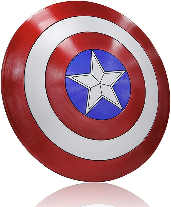Amazon.com: DMAR Captain America - Escudo para adulto ...