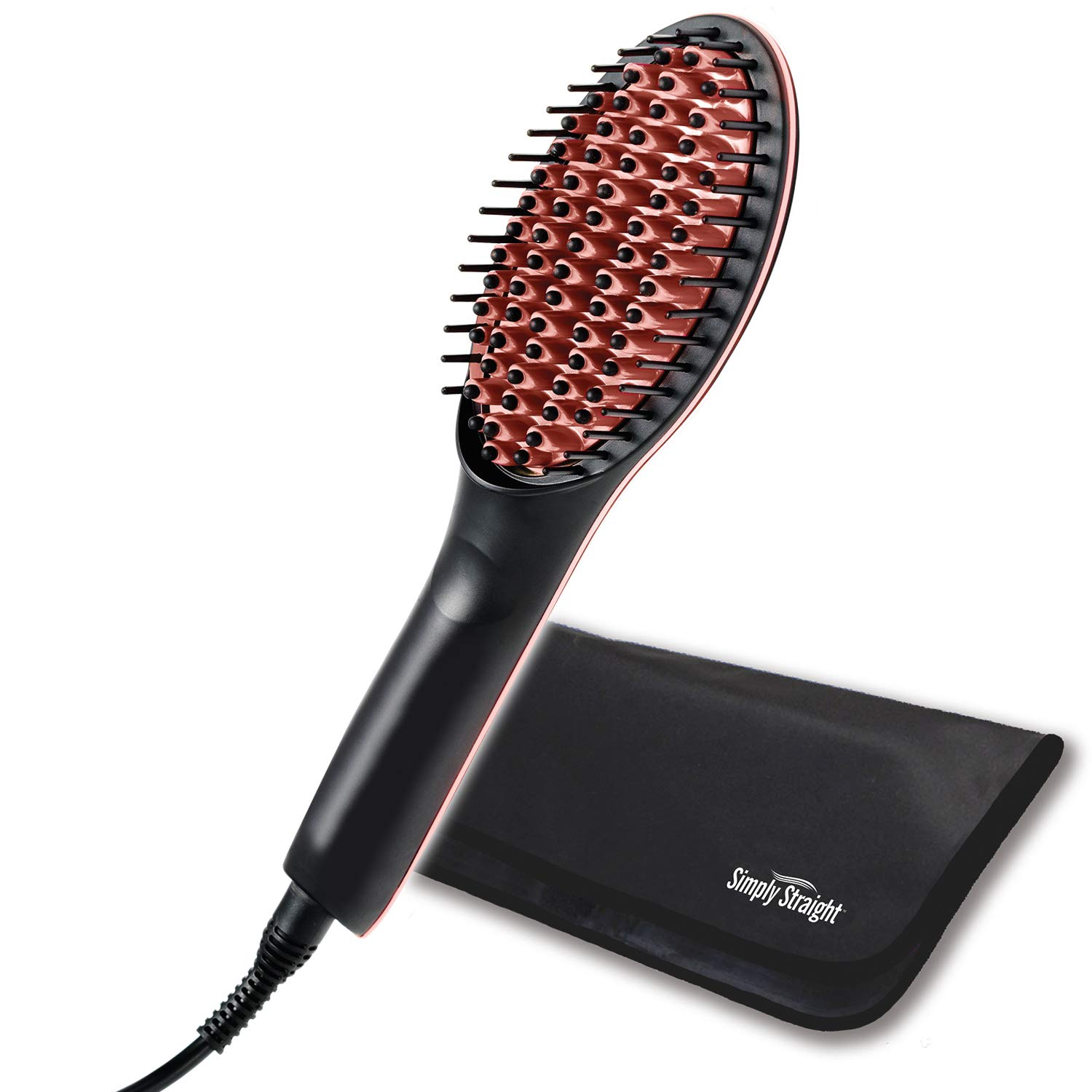 Ontel Simply Straight Ceramic Straightening Brush