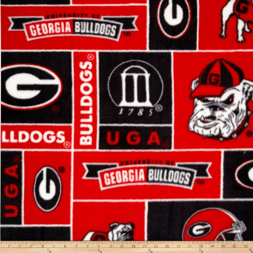 Ncaa Fleece Fabric - 1