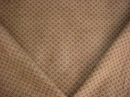 322H15 - Rosewood / Evergreen Southwest / Anatolian Medallion Velvety Chenille Tapestry Designer Upholstery Drapery Fabric - By the Yard
