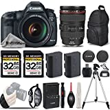 Canon EOS 5D Mark III DSLR 22.3MP Full HD 1080p + Canon 24-105mm f/4L IS USM Lens + 2 Of 32GB Memory Card + Backup Battery. All Original Accessories Included - International Version