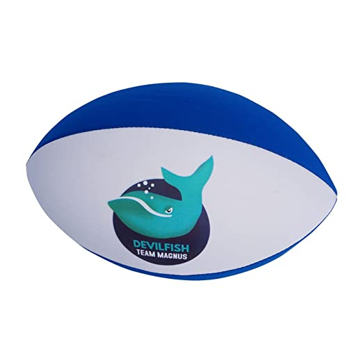 2 opinioni per Palla da rugby in gomma e neoprene per la spiaggia e per la piscina Team Magnus