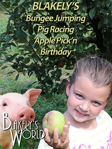 Blakely's Bungee Jumping Pig Racing Apple Pick'n Birthday - Sterling Pig