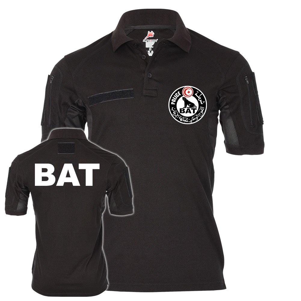 Tactical Polo BAT La Brigade Anti-Terrorisme Uniform Tunis Tunesien Police Spezial-Einheit Abzeichen  22233