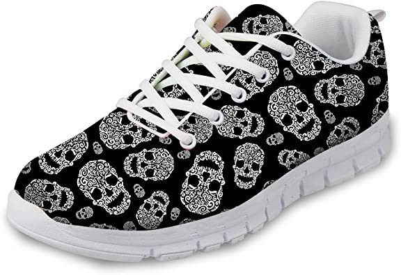 chaussures tête de mort homme femme 7