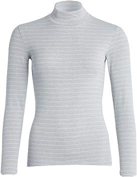 con de TA Camiseta Térmica de Manga Larga con Cuello Alto para mujer: Amazon.es: Salud y cuidado personal