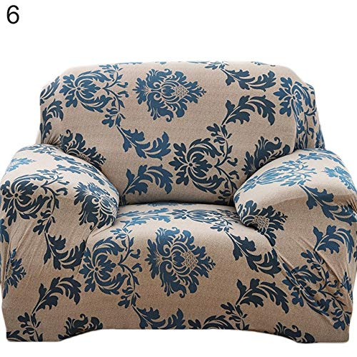 Farmerly Pastoral Stretch Sofa Furniture Cover Case Floral Printed Slipcover Home Decor   6