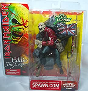 Iron Maiden Eddie The Trooper Mcfarlane Action Figure