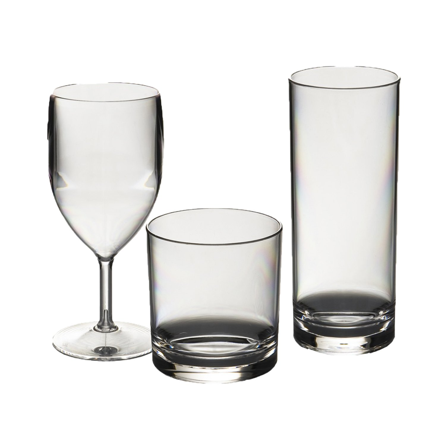 Balvi Set ba/ño Zen Color Blanco Conjunto de 3 Piezas Dosificador de jab/ón Vaso y escobilla de ba/ño Pl/ástico PP//bamb/ú