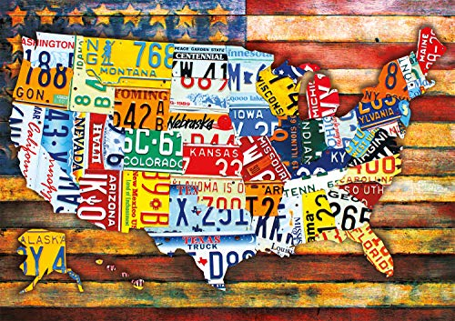 🥇 Buffalo Games – Road Trip USA – 300 Large Piece Jigsaw Puzzle